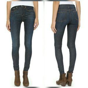"""Rag & Bone Skinny 10"""" High Rise Jeans Haight - 24"""